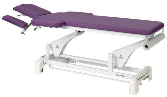 Ecopostural osteopathy electric table, with armrests C3542C