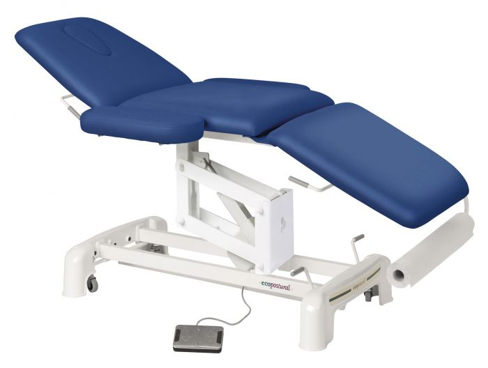 Electric Massage Table in 3 parts with armrests Ecopostural C3516