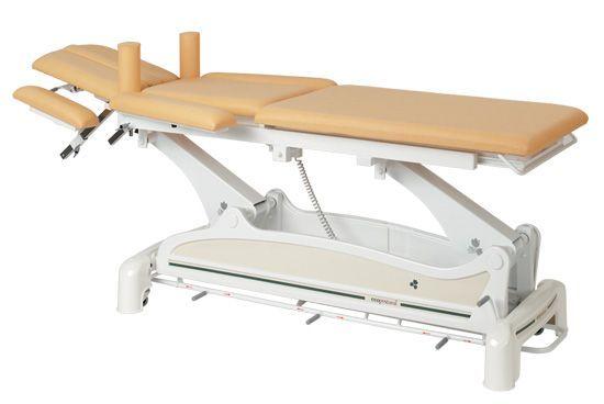 Ecopostural multi-purpose electric table, with circular rail foot control C3532M47