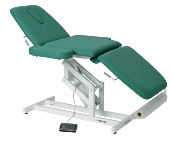 Electric Massage Table in 3 parts with armrests Ecopostural C3589