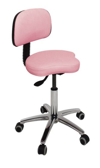 Ecopostural swivel stool with backrest Ecopostural S4639