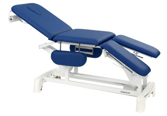 Ecopostural chiropody electric table with arm rests C3539