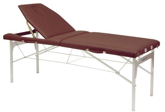 Ecopostural adjustable height massage cable table, C3414M61