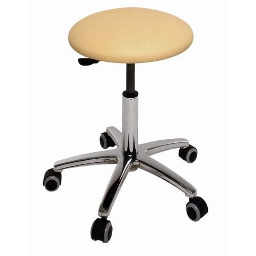 Ecopostural swivel stool with chromium-plated base Ecopostural S4610