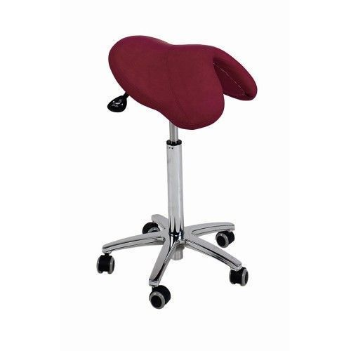Ecopostural PONY saddle stool with chromium-plated base Ecopostural S3660