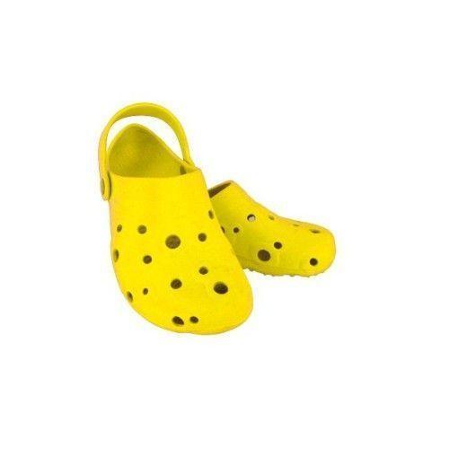 Yellow  women's Globule clogs