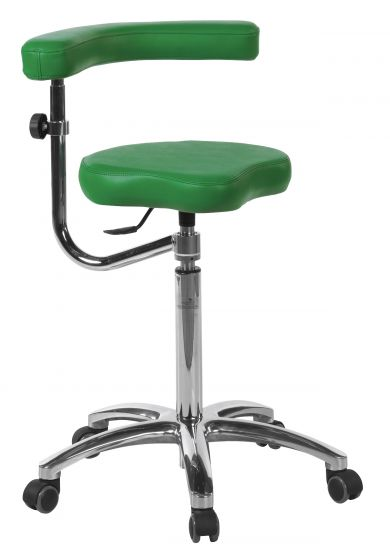 Ecopostural swivel stool with chromium-plated base Ecopostural S5643