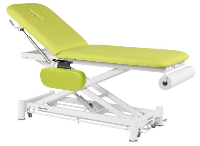 Electric Massage Table in 2 parts Ecopostural C7551 with armrests
