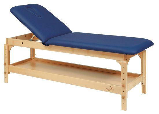 Ecopostural adjustable height wooden massage table C3220