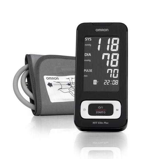 Omron MIT ELITE PLUS, upper arm digital blood pressure monitor