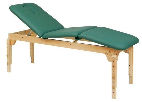 Ecopostural adjustable height wooden massage table C3119
