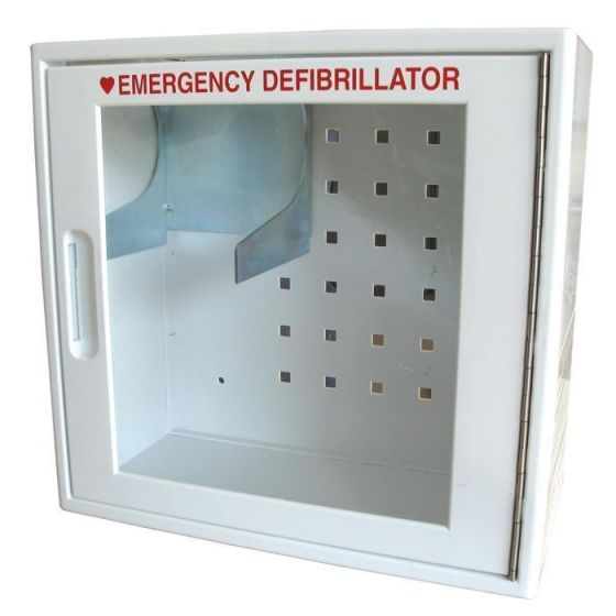 Defibrillator Def-I Colson storage cabinet with alarm