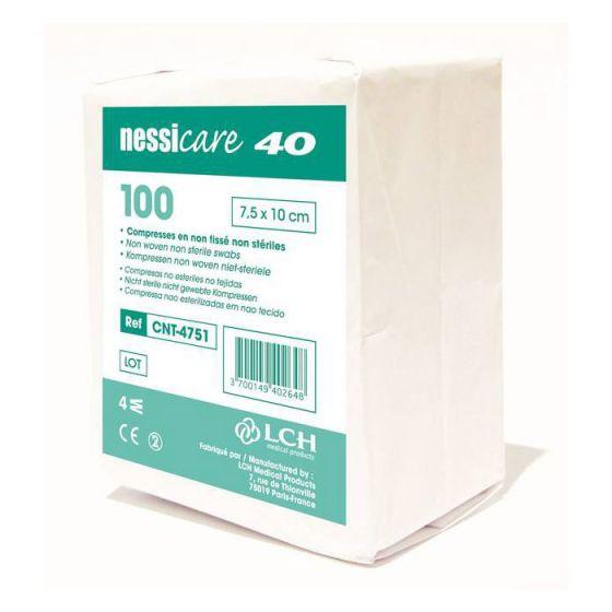 Compresses non tissées non stériles 40 grs Nessicare LCH