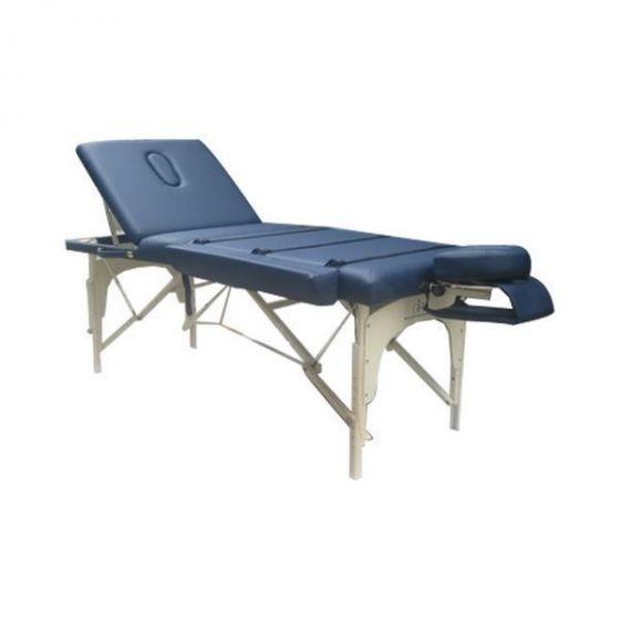 Eco Pro massage table with backrest