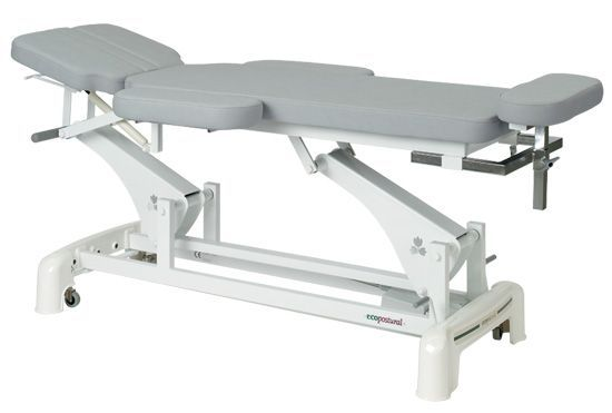 Ecopostural Osteopathy electric table with arm rests C3545M24