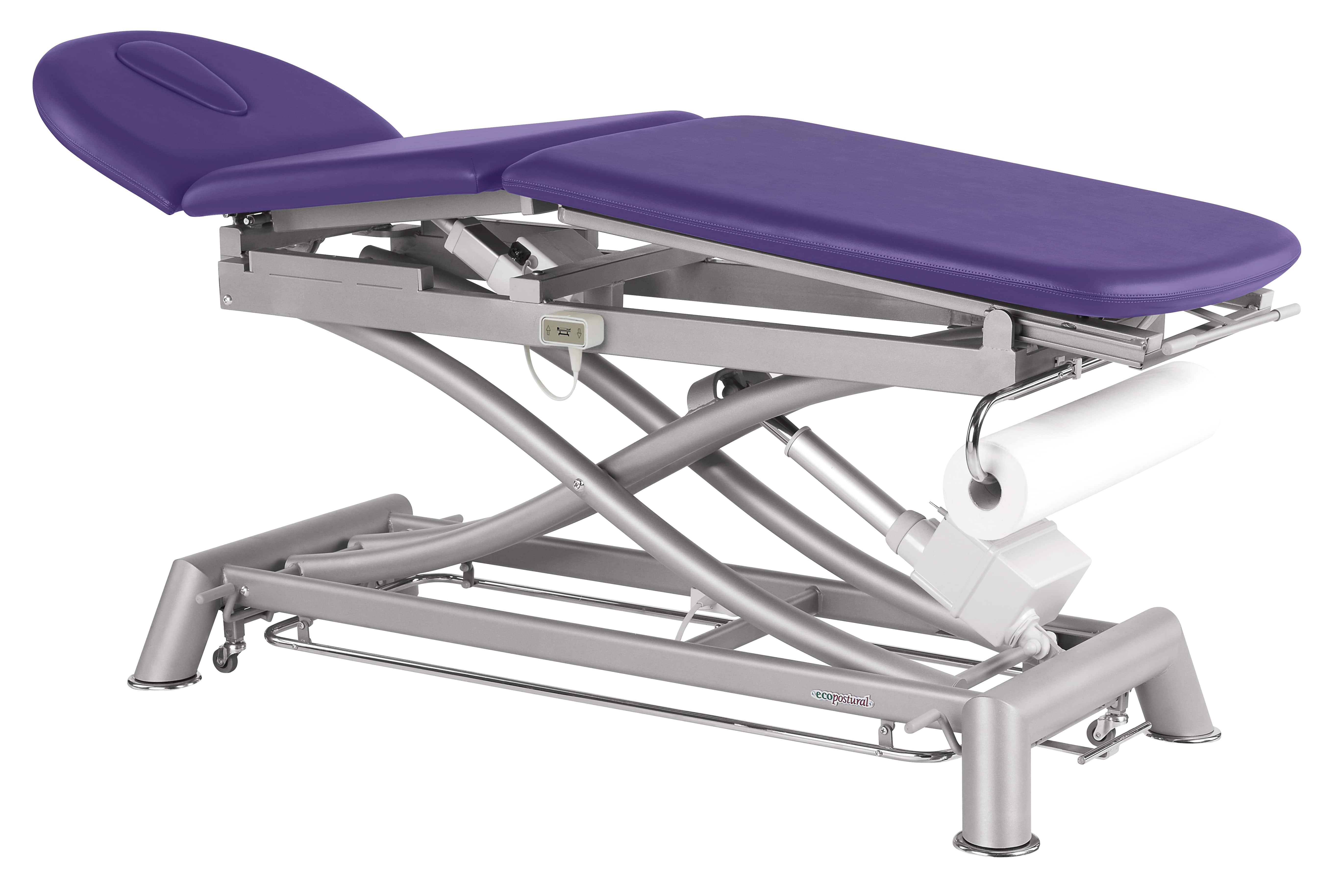 Awesome Electric Massage Table In 3 Parts With Peripheral Bar Ecopostural C7921 Interior Design Ideas Helimdqseriescom